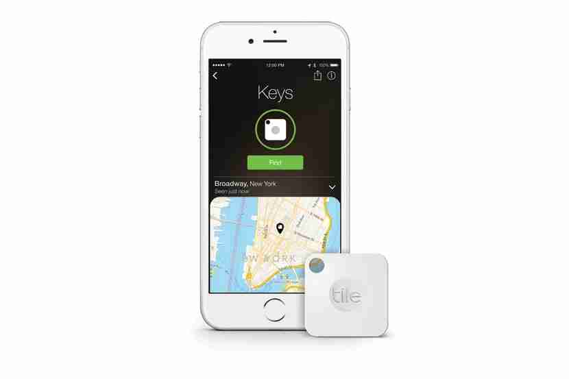 This device is like a homing beacon for your keys, camera and anything else you attach it to.<br /> Image courtesy of Tile Inc.