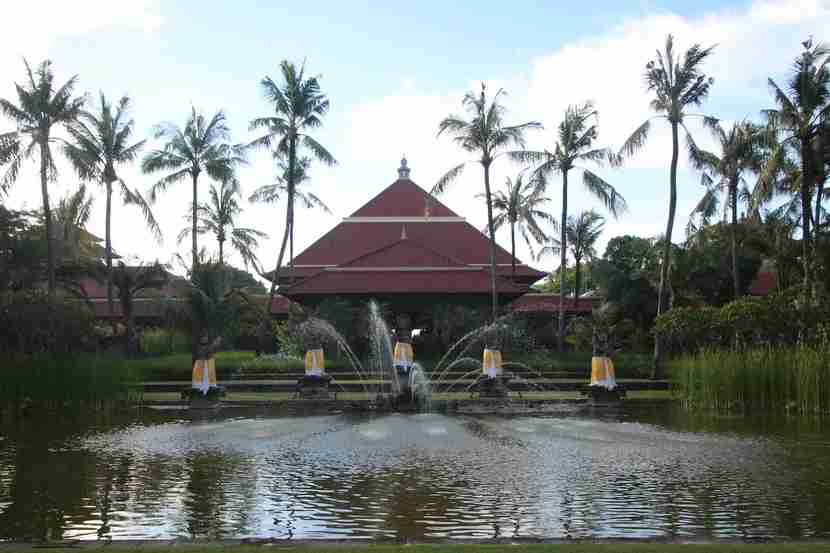 For just a $49 annual fee credit card, you could get a free night at any IHG property, such as the Intercontinental Bali