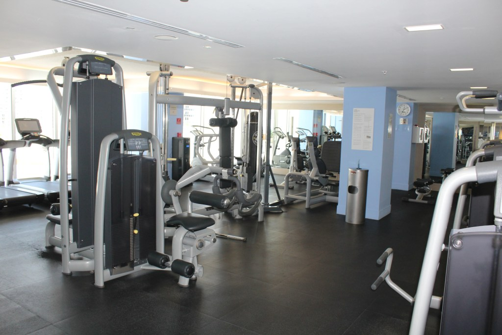 The gym went above and beyond typical hotel gym standards.