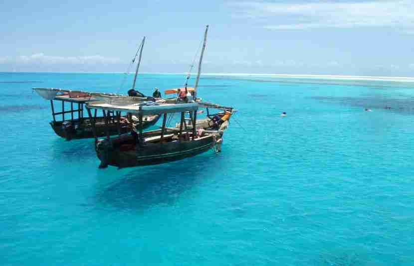 The turquoise waters and white sand beaches of Zanzibar are the perfect remedy for your aching body.