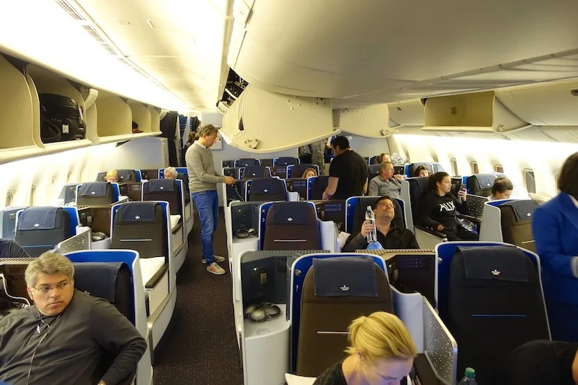 Review Klm 777 300er Business Class Nyc To Amsterdam