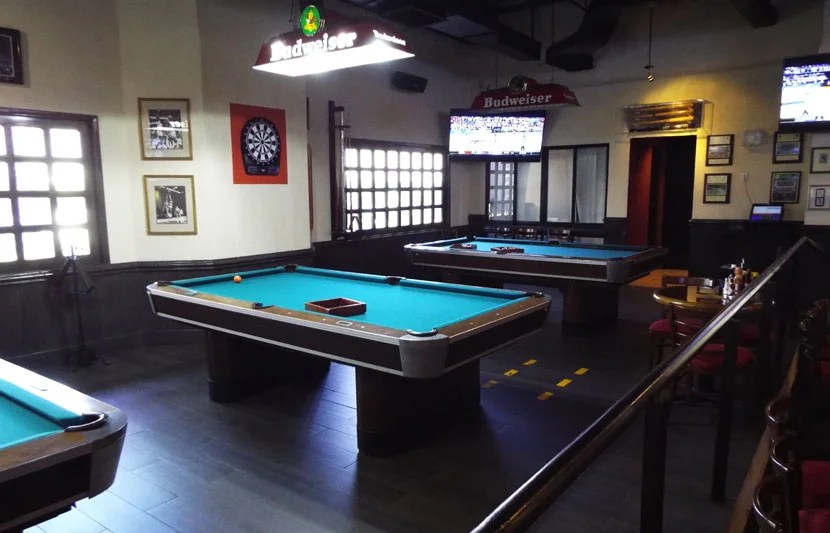 also located in the back of the restaurant were three pool tables which got busier as the night went on - Pool Tables For Sale Near Me