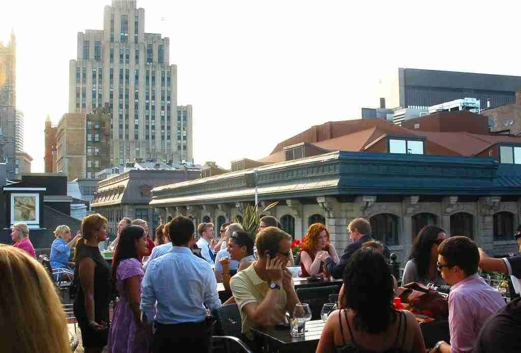 Shout out your love of Montreal from the rooftops at Hotel Nelligan