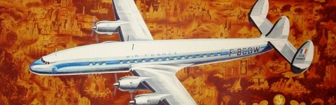 These TBT Vintage Airline Posters Will Inspire Travel Envy