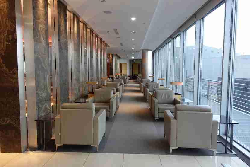 Air Canada lounge 2