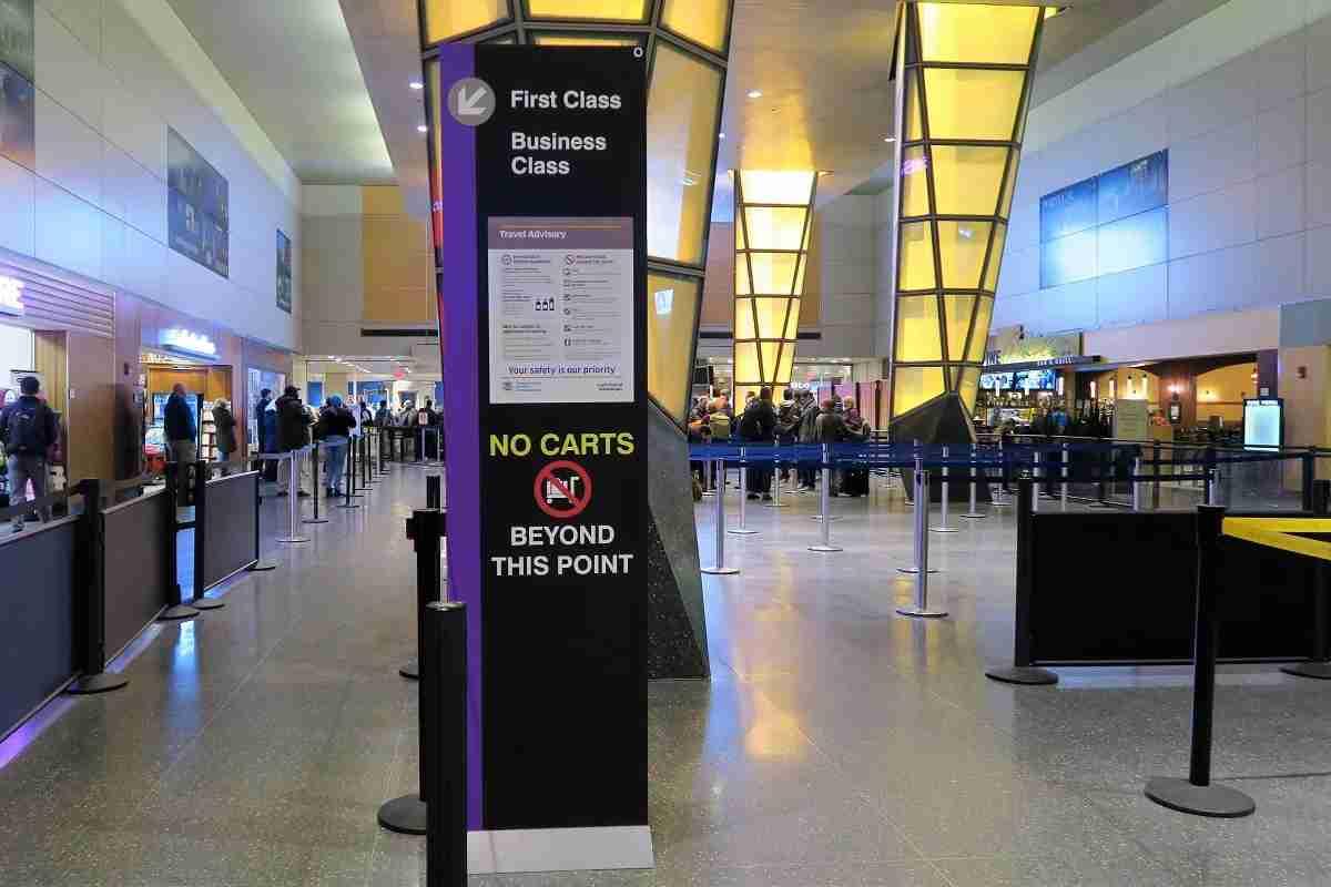 BOS Terminal E security