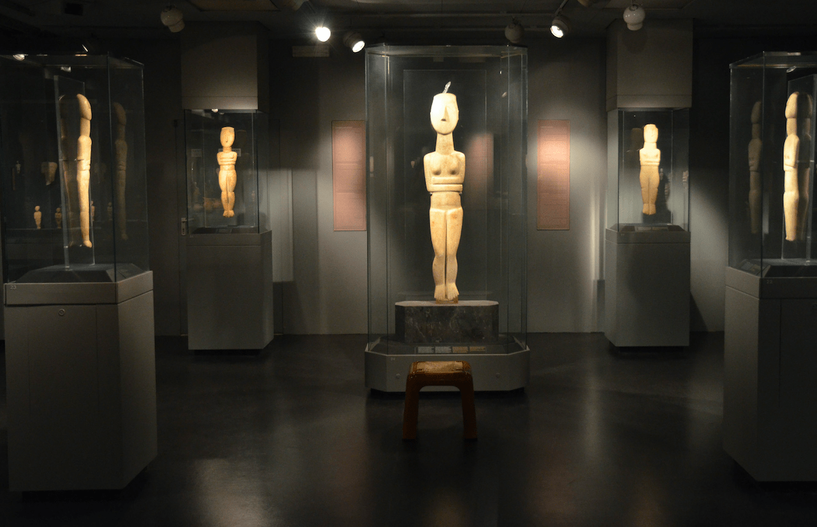 Check out the smaller cultural spaces like the Museum of Cycladic Art, dedicated to the ancient cultures of the Aegean and Cyprus. Like the Benaki Museum, it has a great cafe and gift shop, too.