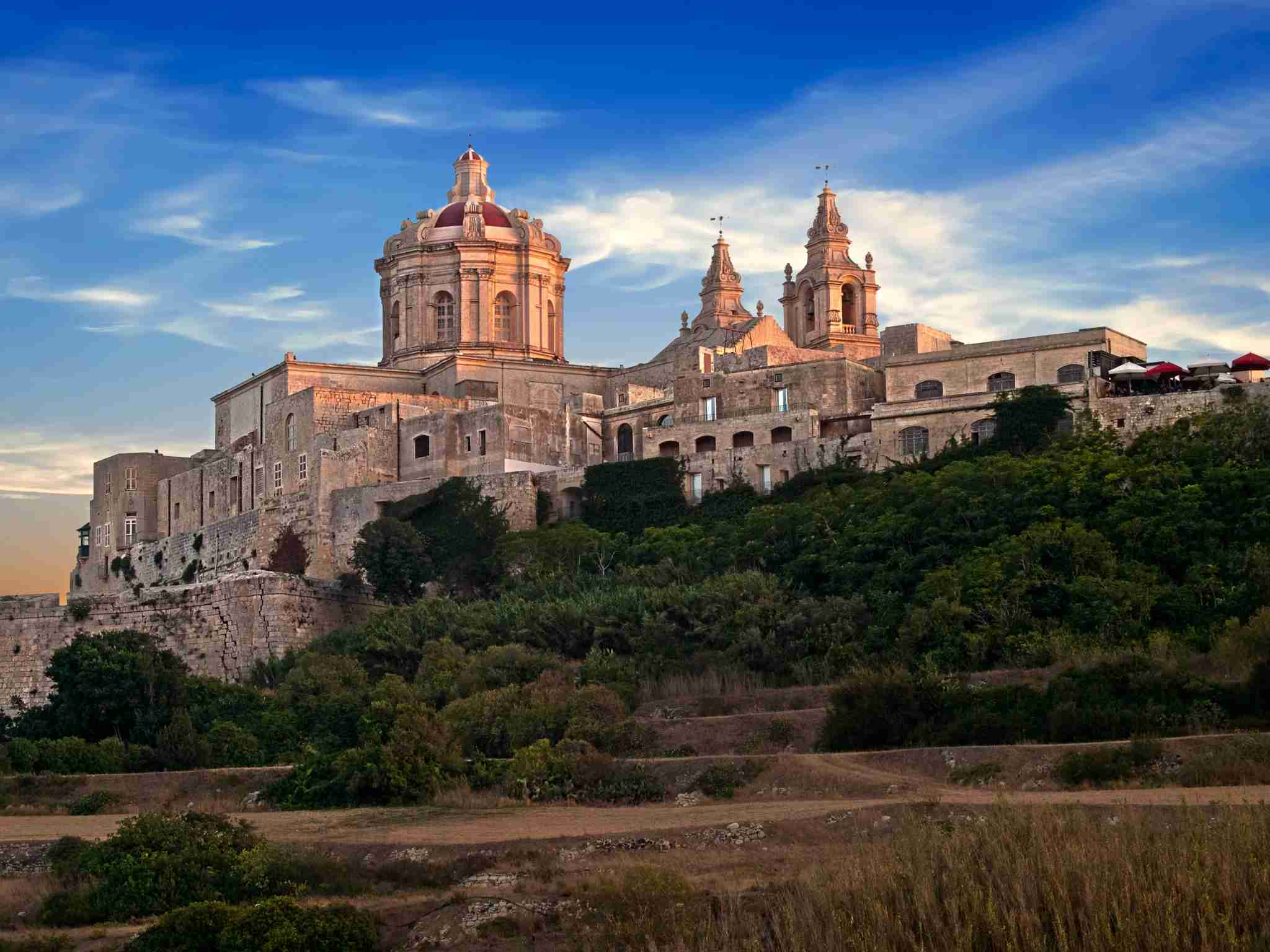 The walled city of Mdina, photo courtesy of Maltaguy1.