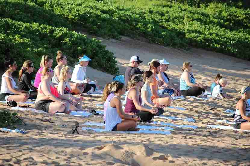 IMG Grand Wailea Beach Yoga