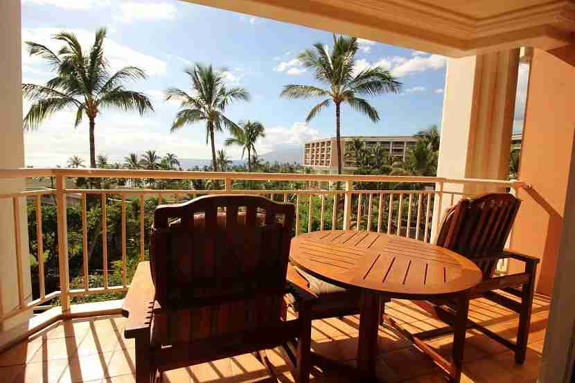 IMG Grand Wailea Ocean View Room patio