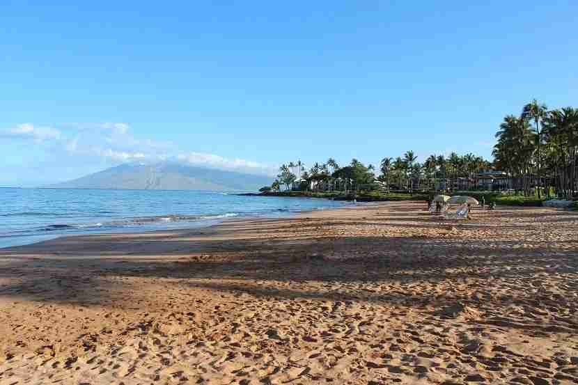 Grand Wailea Beach (photo by Peter Rothbart)