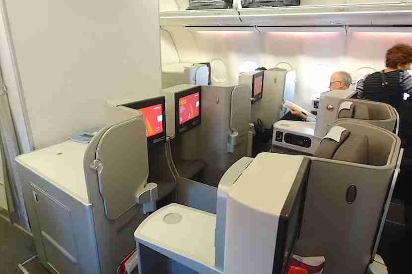 Iberia middle seats 2