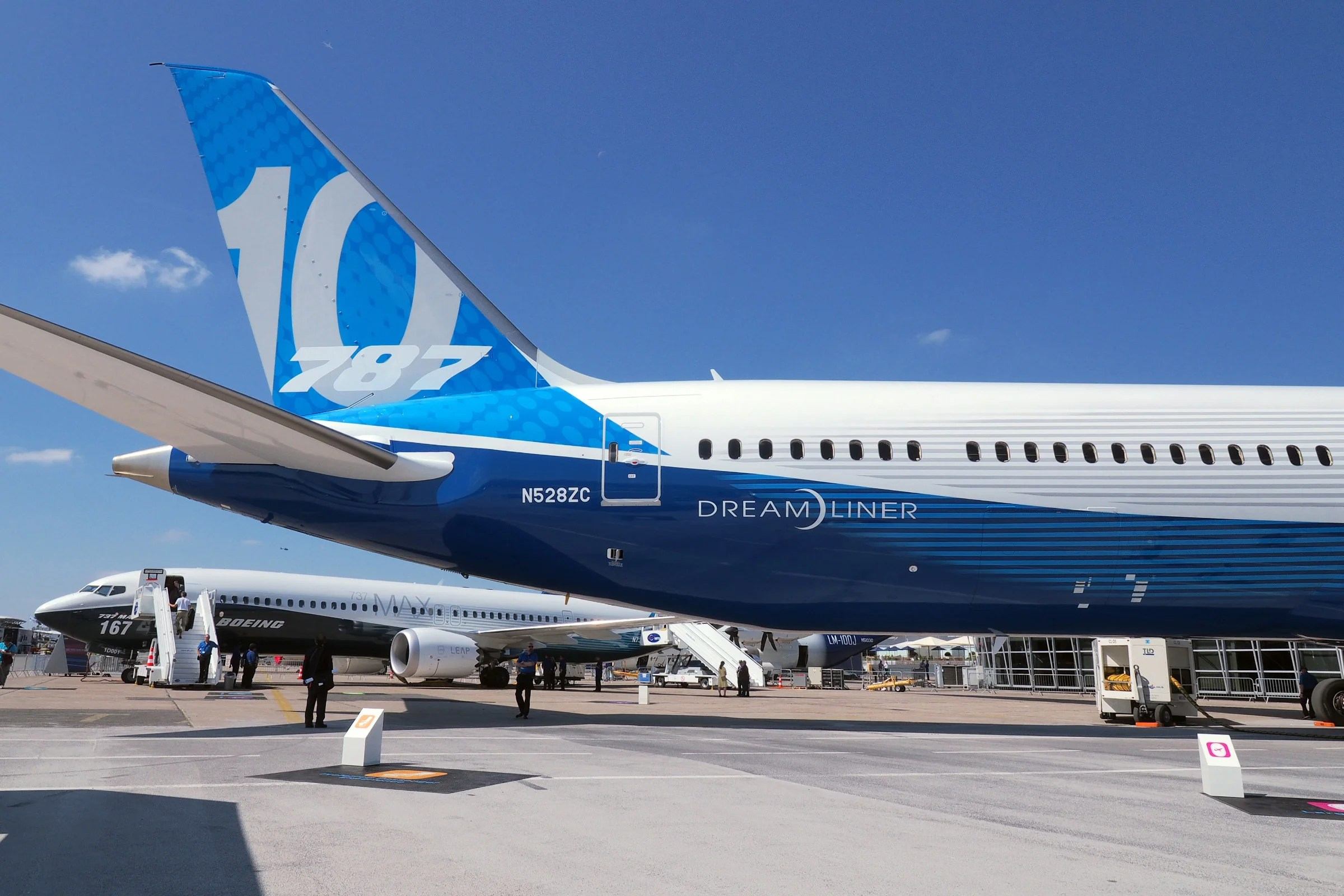 Boeing's first-ever Dreamliner flight was 10 years ago this week