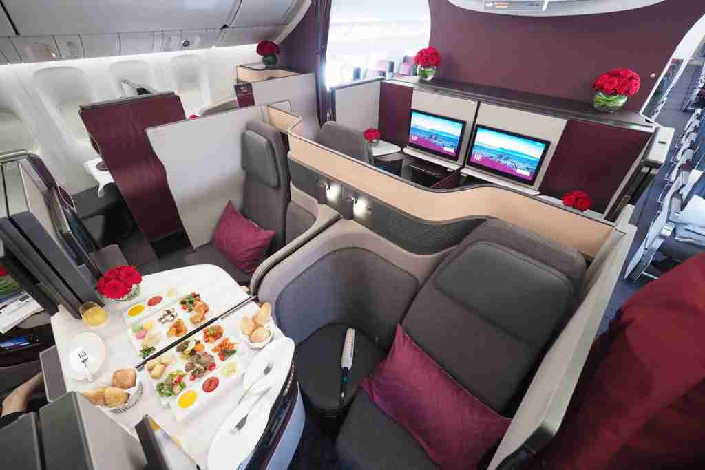 Qatar 777 Qsuite First Look