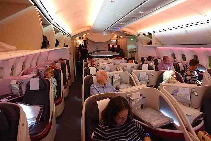 Qatar 787 cabin 1