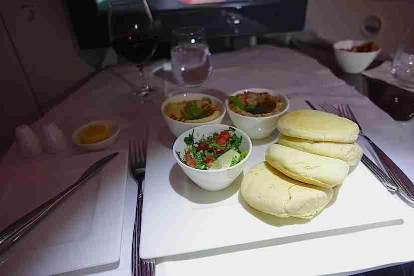 Qatar 787 mezze