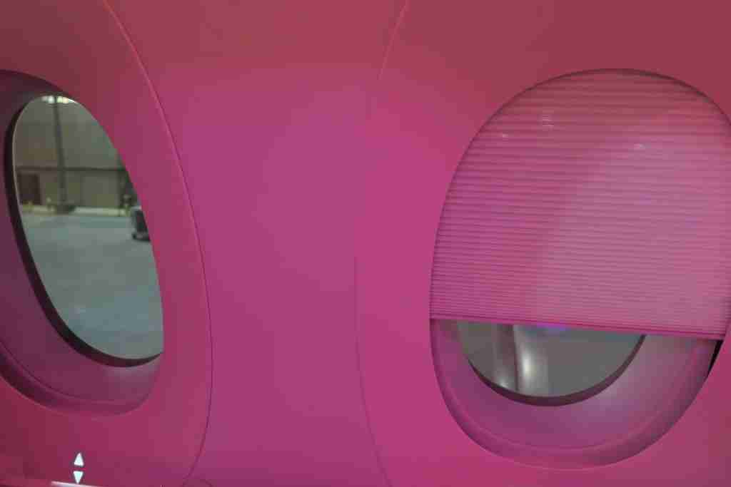 Qatar A350 business class window shade