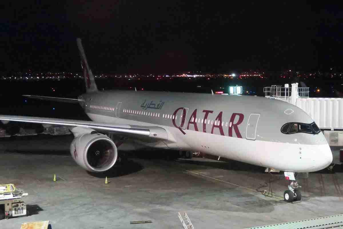 Qatar A350 exterior