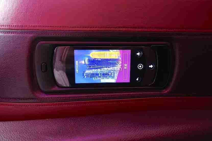 Qatar A350 seat remote