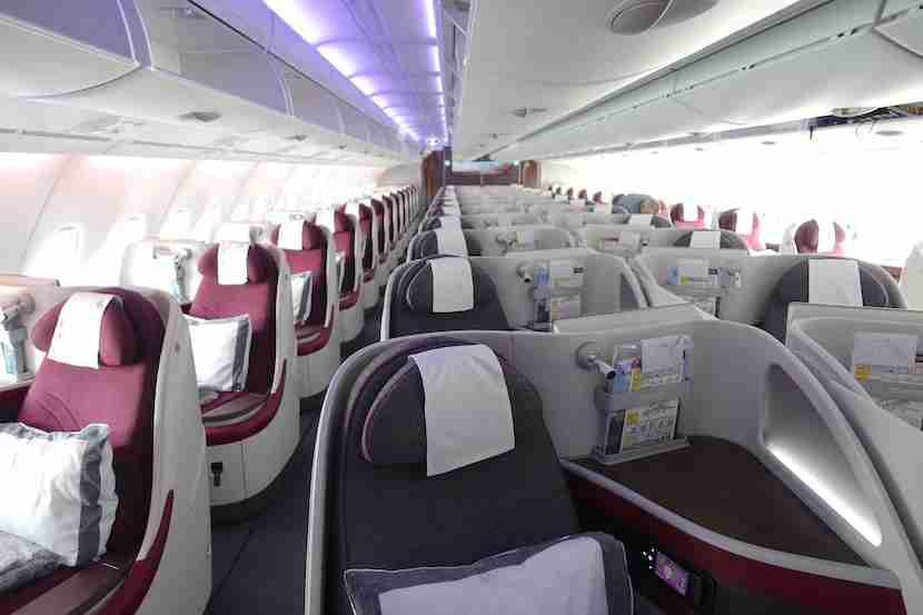 Qatar aisle 2