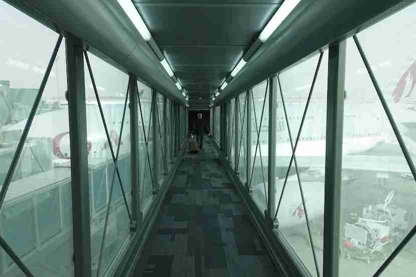Qatar jet bridge