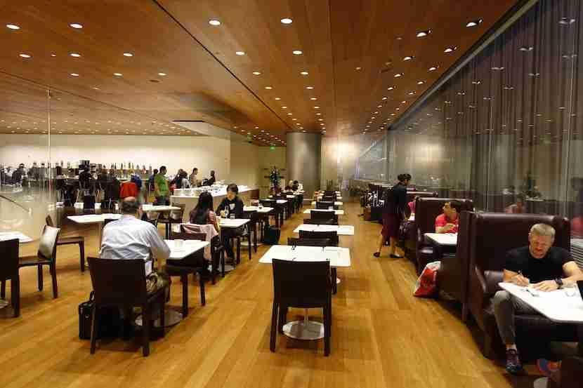 Qatar lounge dining