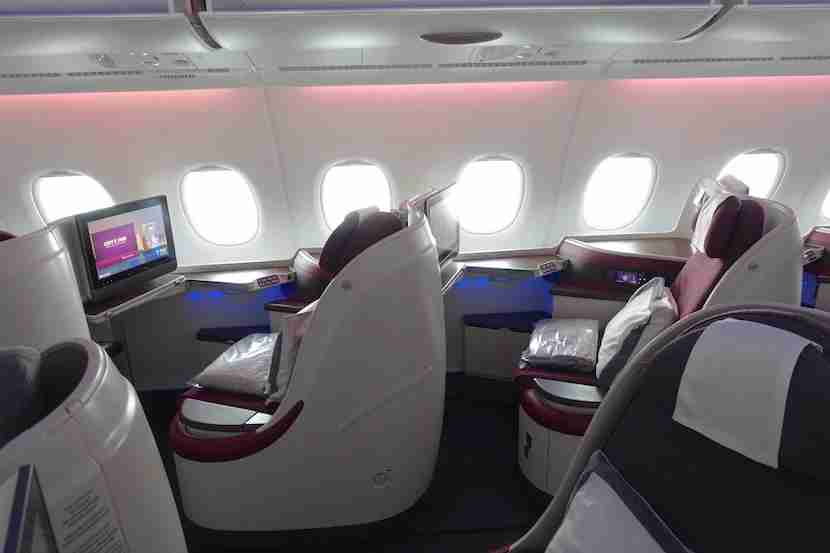 Qatar side seats profile