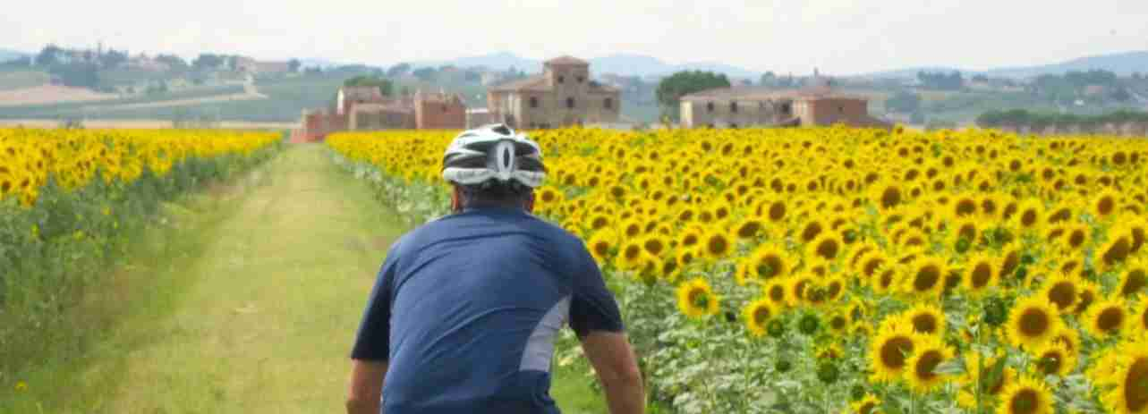 Be outdoorsy and drink wine at the same time. Image courtesy of We Bike Tuscany Tours.