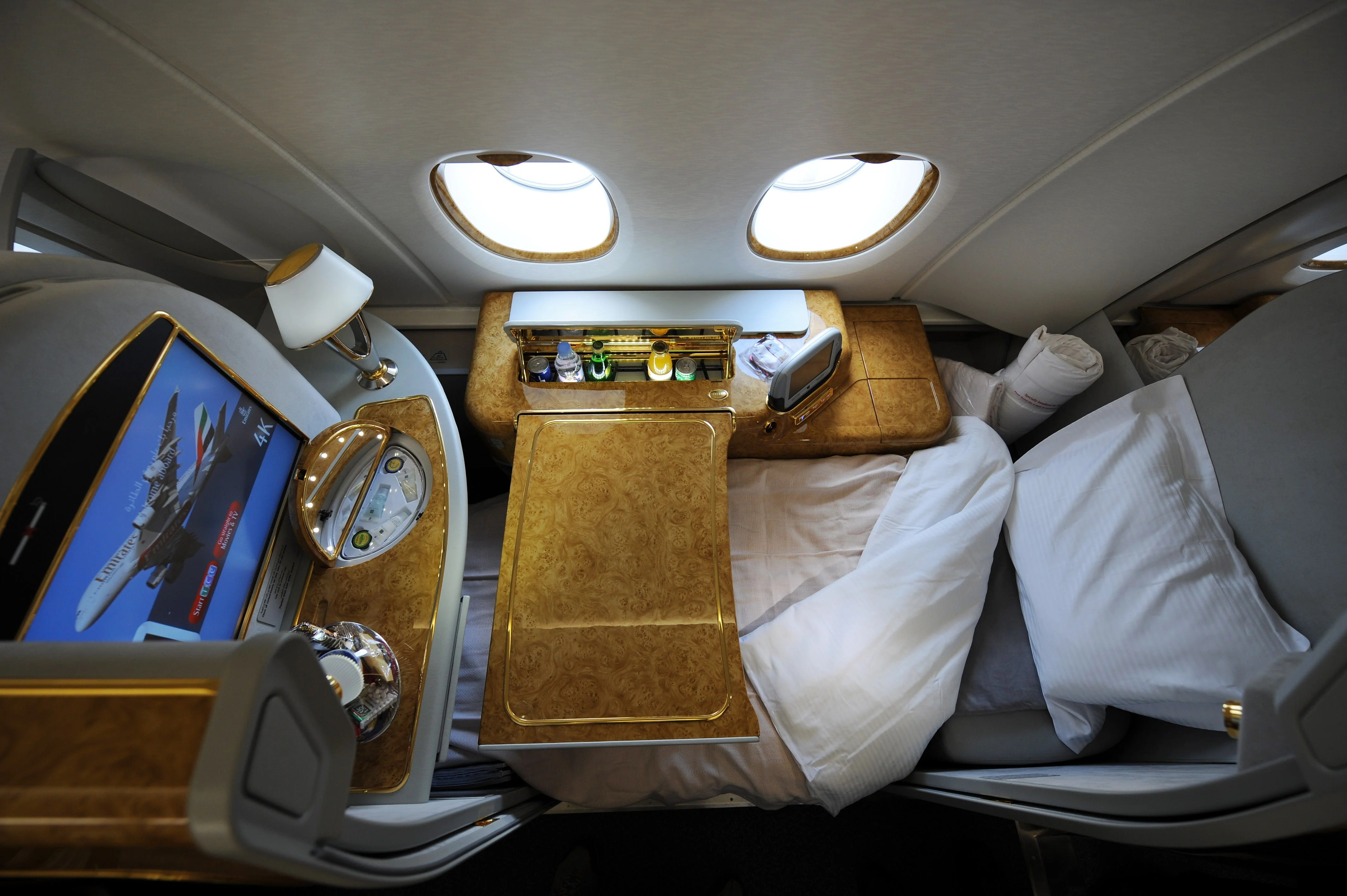 pictures How to Behave when Flying First Class