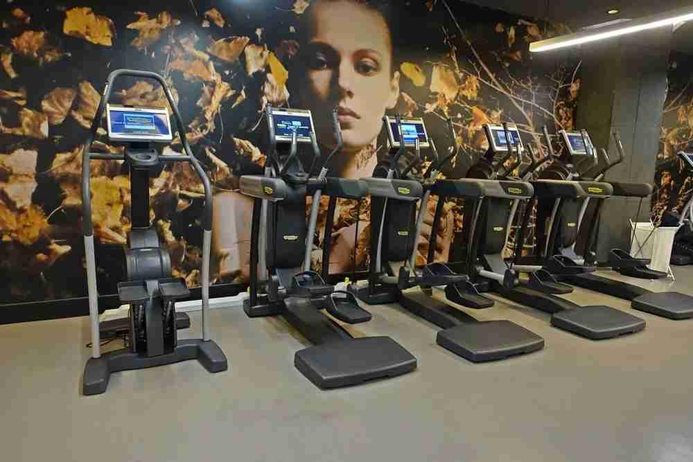 Cardio machines.