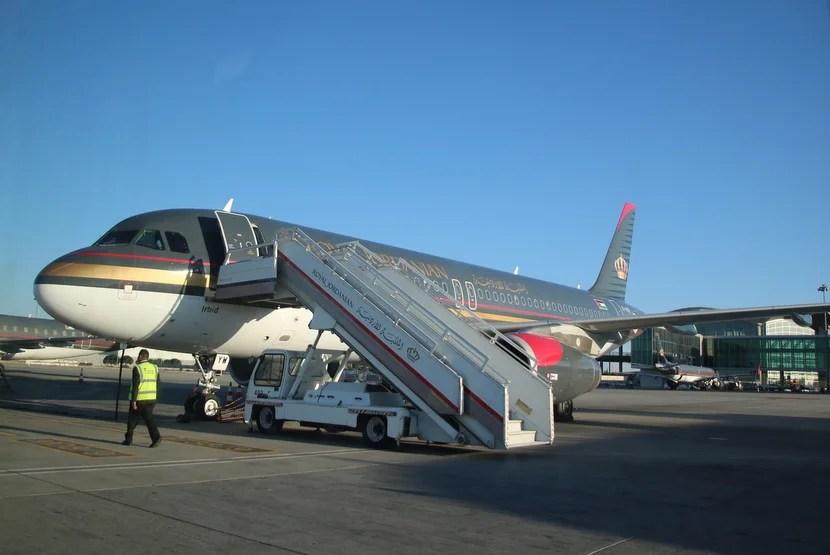 Review: Royal Jordanian (A320) Business, Amman to Tel Aviv
