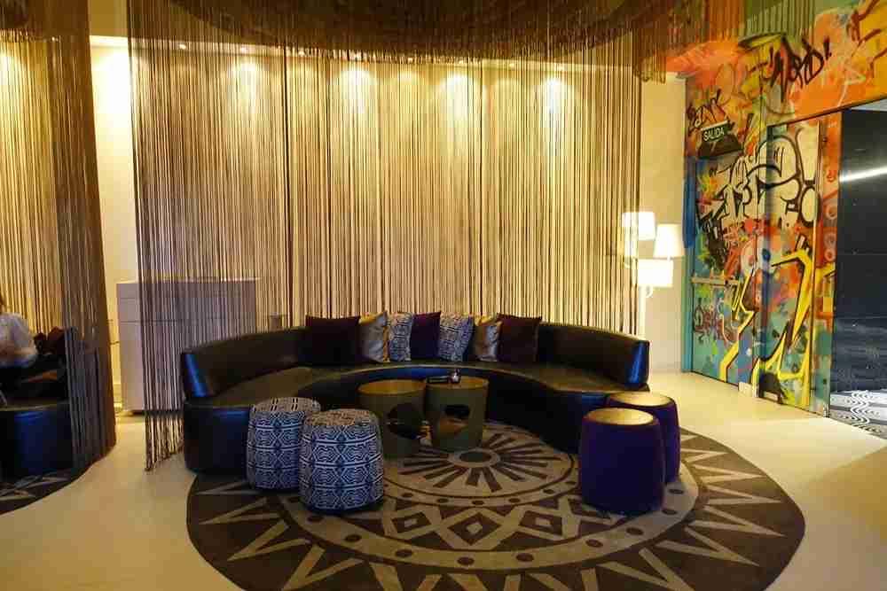 The W Lounge.