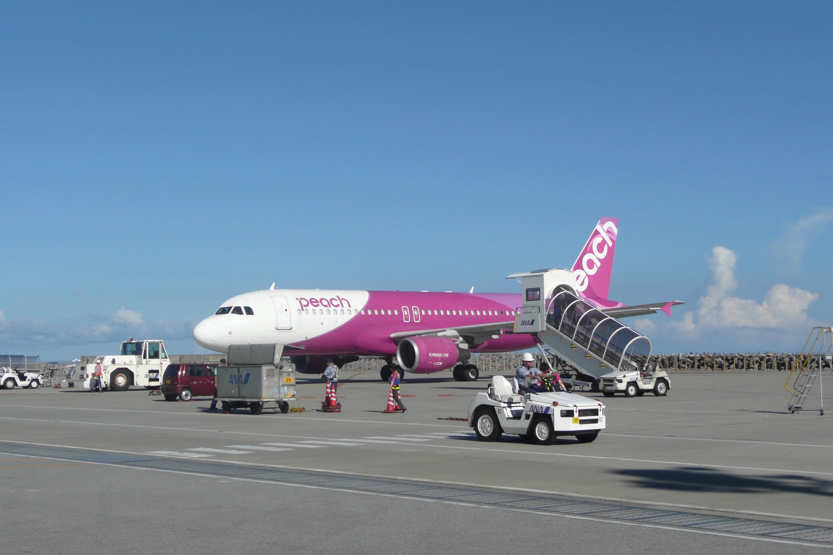 Flight Review Peach A320 Economy From Bangkok To Okinawa