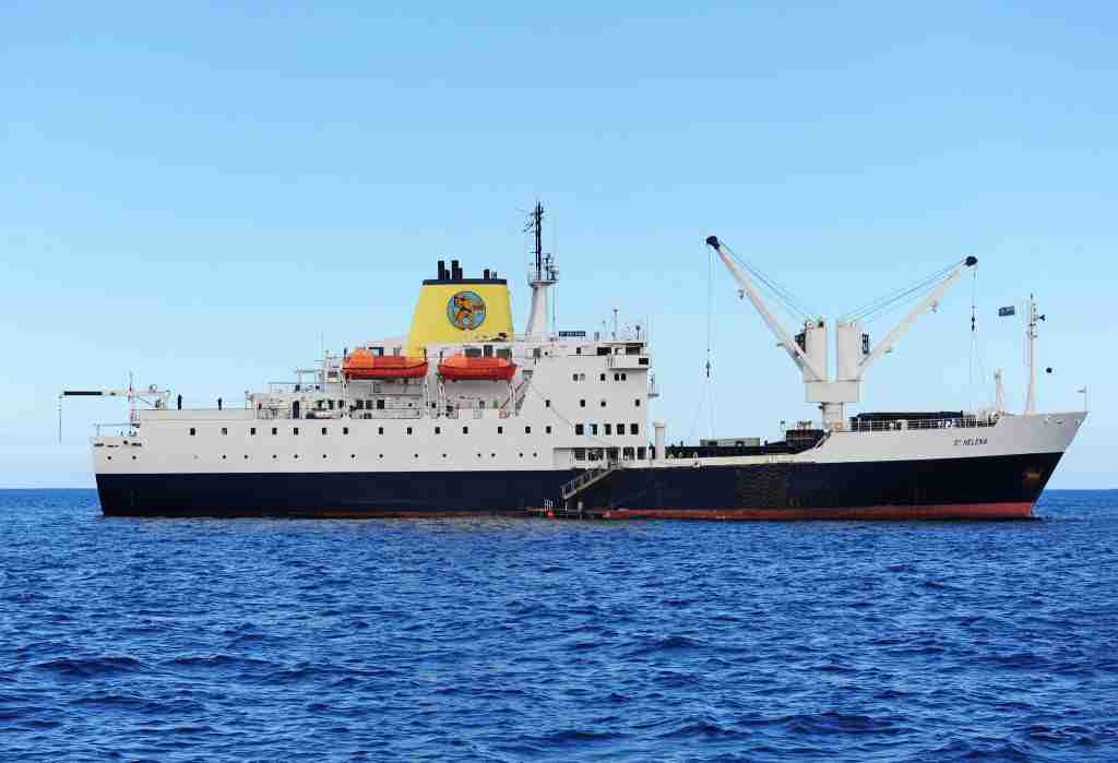 RMS St Helena. Image courtesy of St Helena Tourism Board.