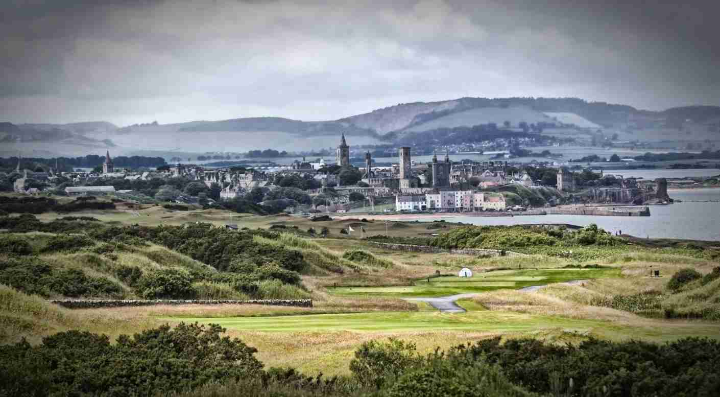 A view to St. Andrews along the Fife Coast. Photo courtesy of Jim Dean Photography.