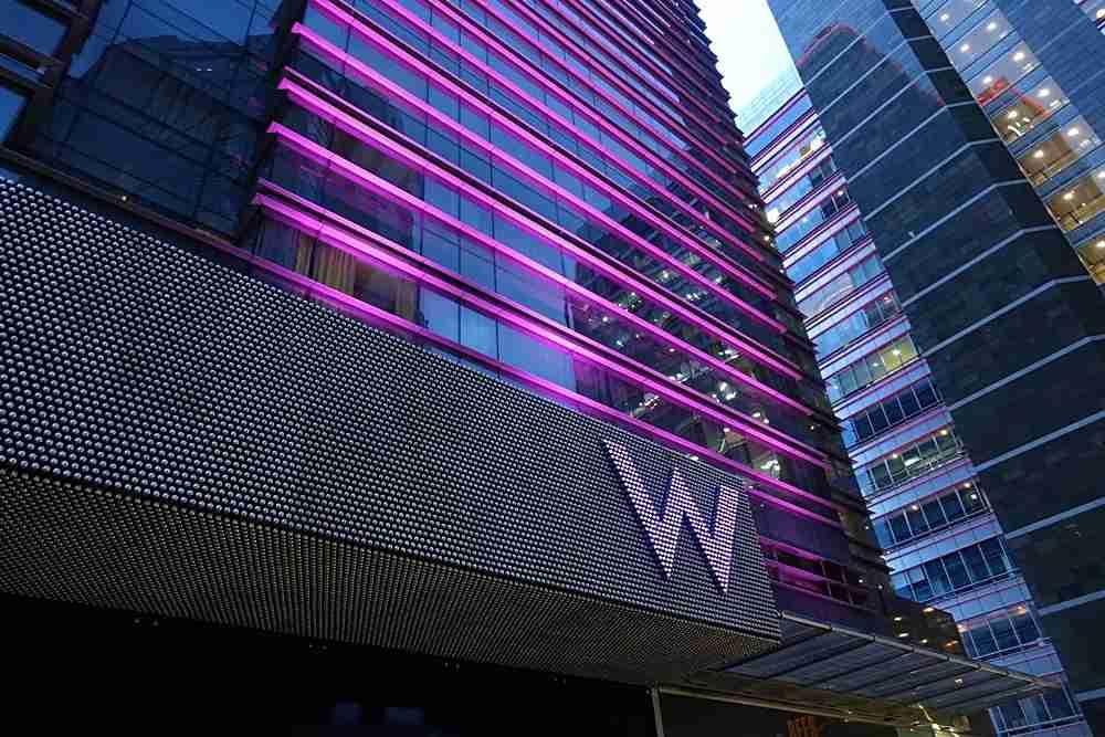 The W Bogotá.