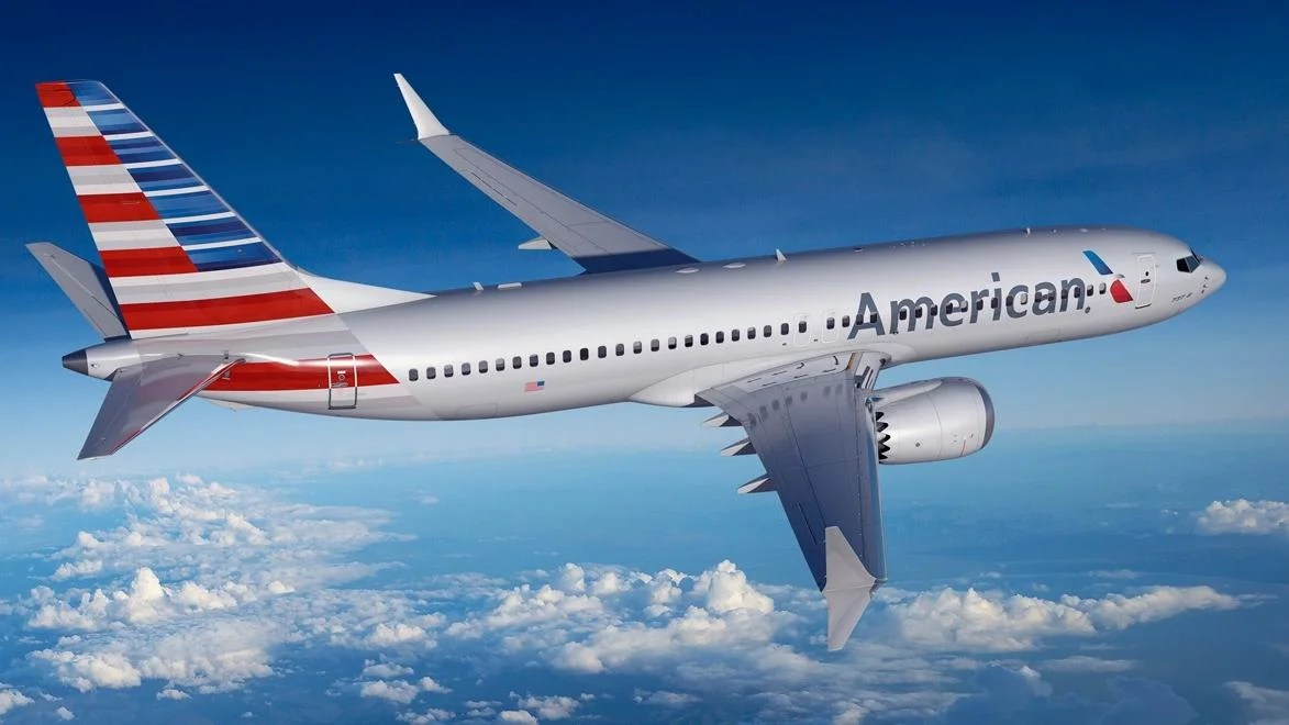 First Scheduled 737max Flight For American Airlines