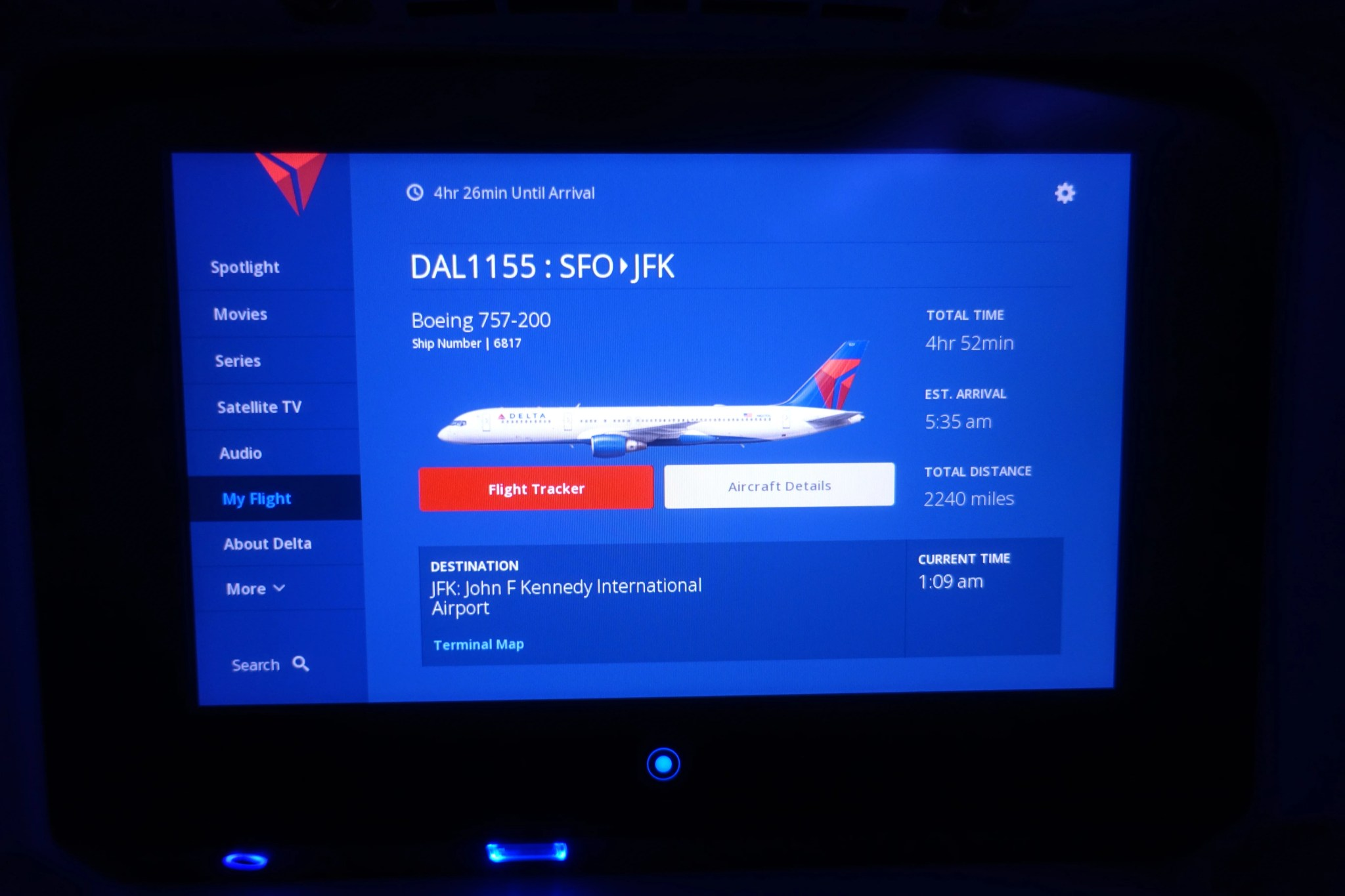 Review: Delta Comfort+ (757-200), San Francisco to New York on
