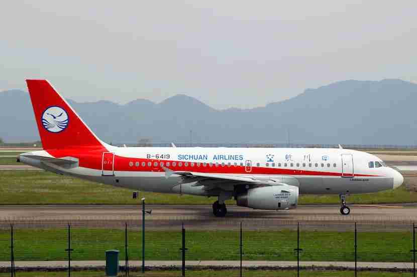 Sichuan Airlines is based in Chengdu. Photo by byeangel.