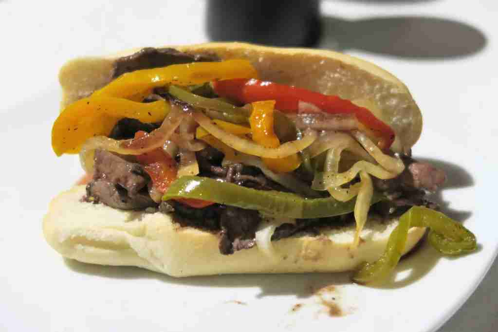 AA ORD Flagship Lounge - Chicago Style Italian Beef sandwich