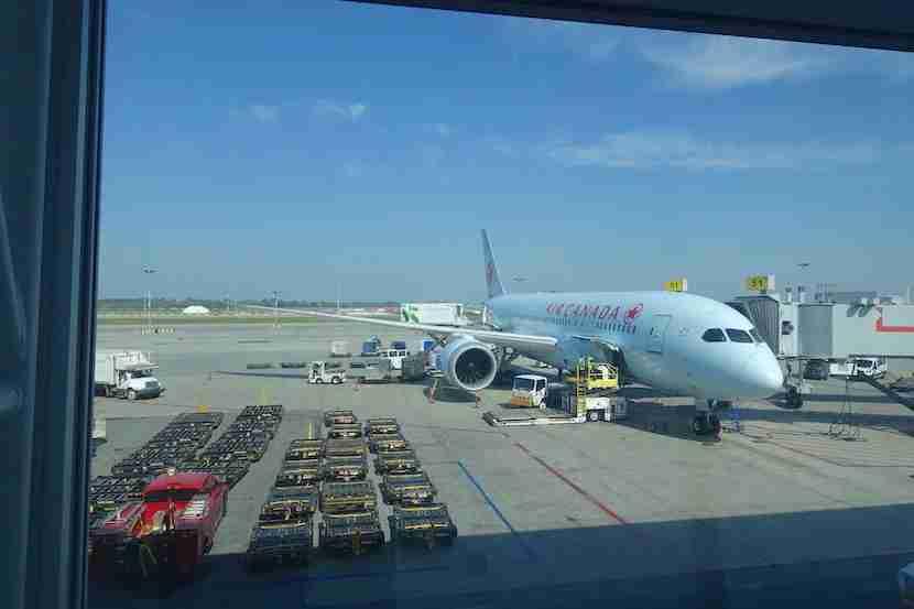 Air Canada Plane 1
