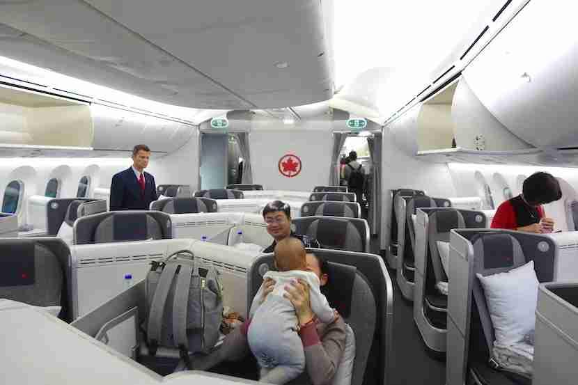 Air Canada cabin
