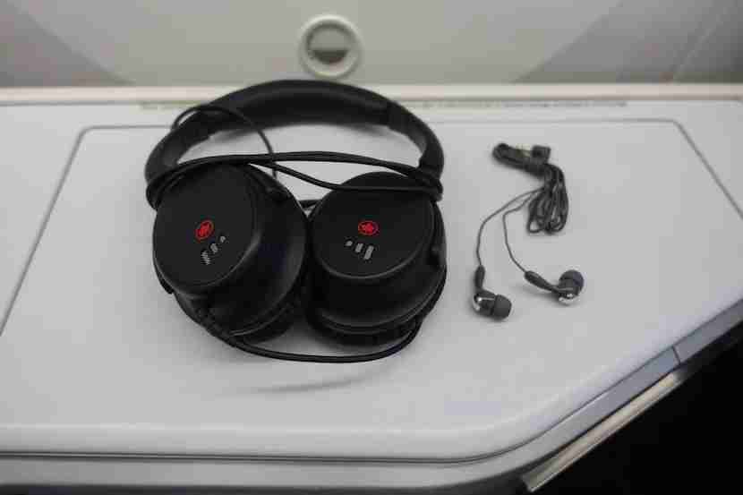 Air Canada headphones