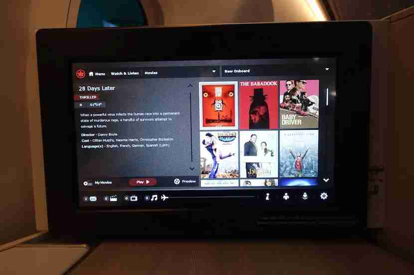 Air Canada new releases