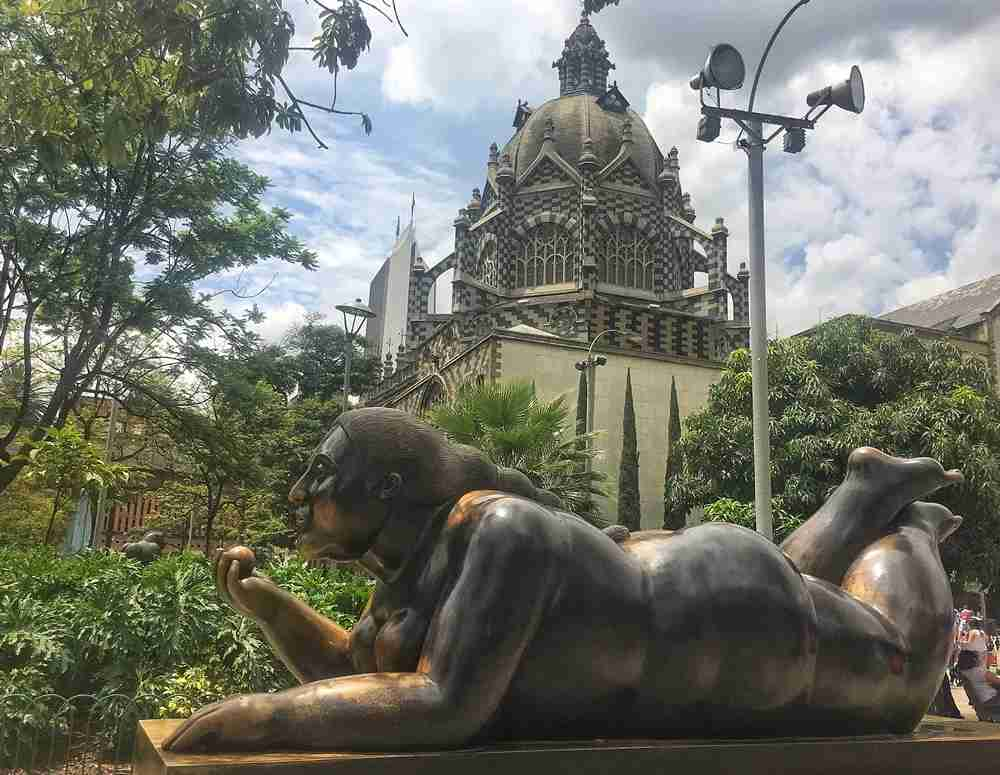 A Botero statue in Medellín. Photo by Lori Zaino.