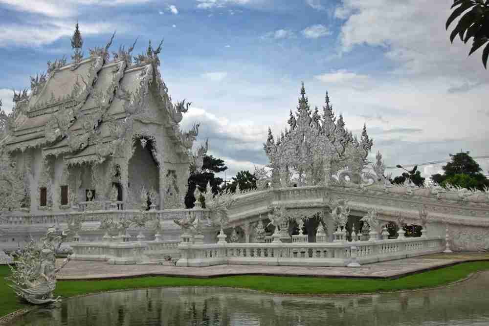 The White Temple in Chiang Rai, Thailand.