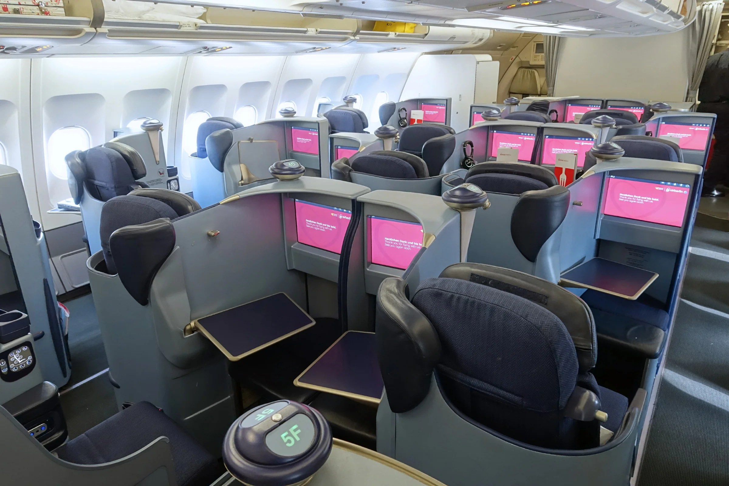 Review: Air Berlin (A330) Business, Dusseldorf to New York