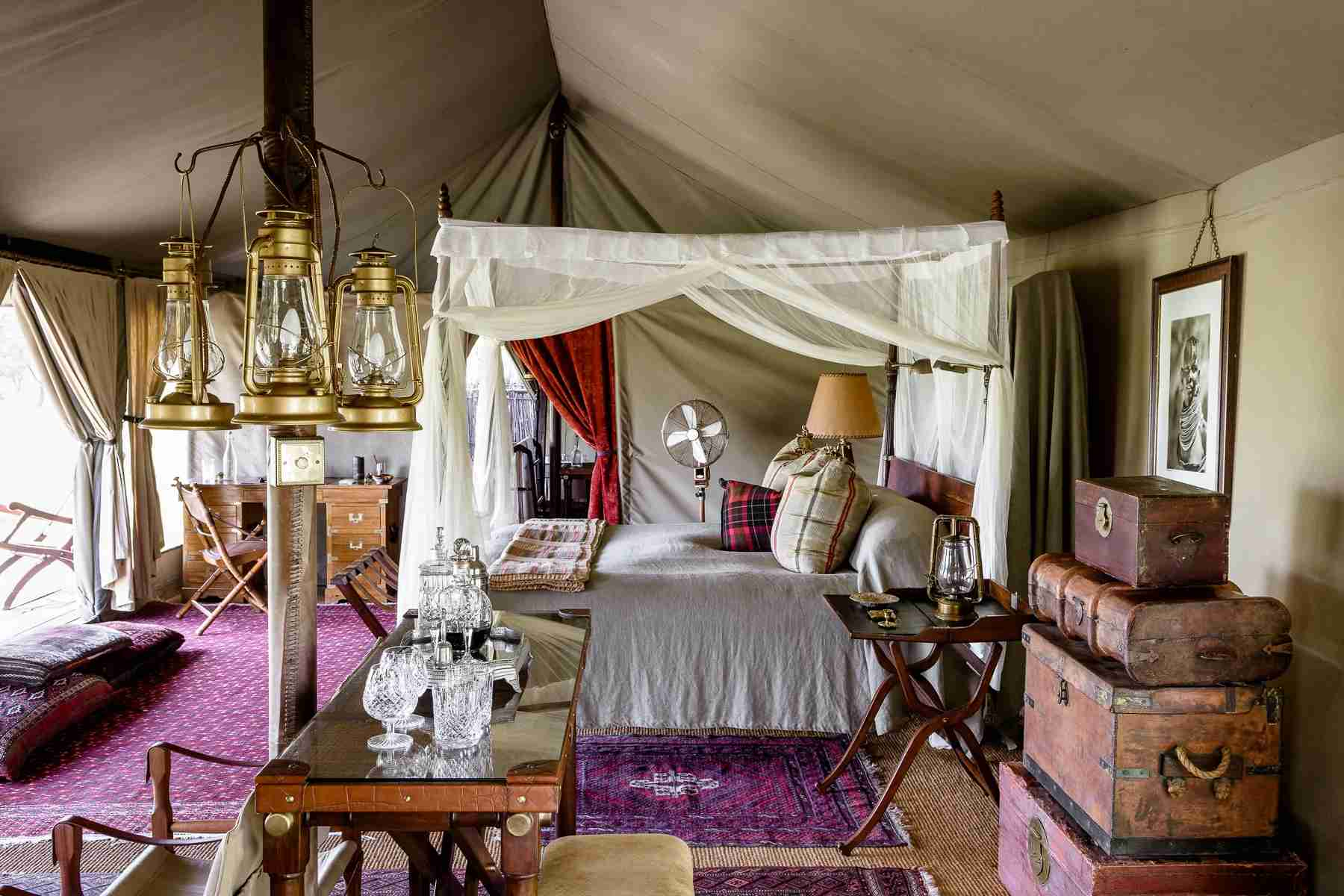 Image courtesy of Singita Sabora Tented Camp.