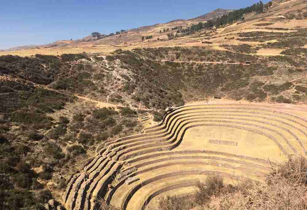 The agricultural terraces of Moray. Image by Lori Zaino.
