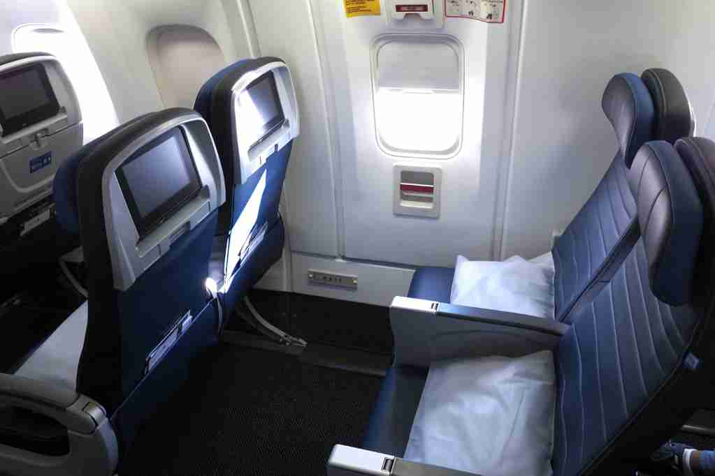 United 767-300ER Polaris Where to Sit